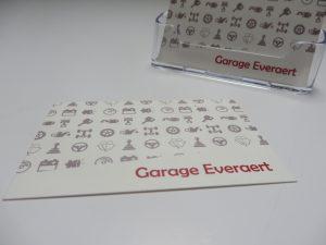Visitekaartje Garage