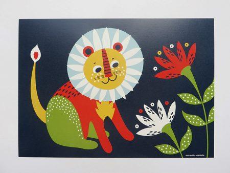 Prent-kinderkamer-leeuw-2