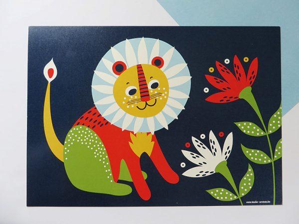 Prent-kinderkamer-leeuw-4