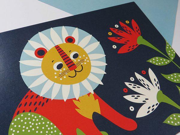 Prent-kinderkamer-leeuw-5