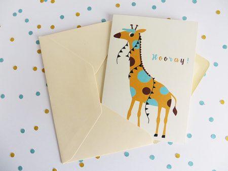 Wenskaart-giraf-in-envelop