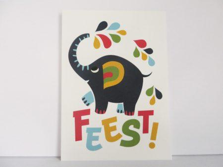 Wenskaart-Olifant-Feest-1