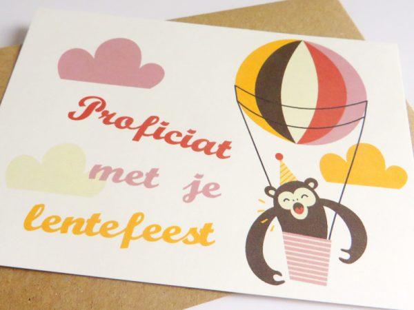 Aap-in-luchtballon-Wenskaart-communie-lentefeest-5.