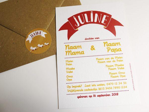 Geboortekaartje-Juline-Naam-met-speelgoed-2