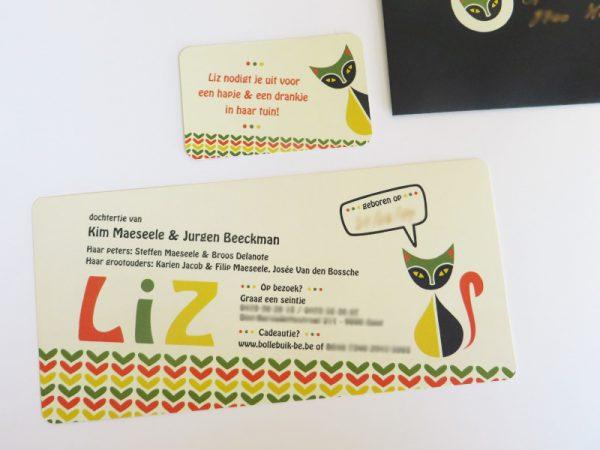 Geboortekaartje-Liz-met-retro-poezen-2