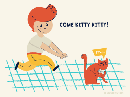 Come kitty kitty T-shirt design
