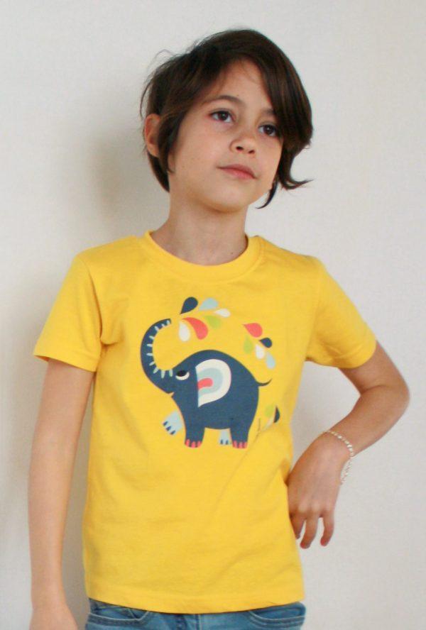 Little elephantT-shirt - Meisje van 7,5 jaar
