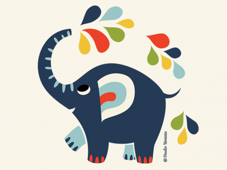 Little elephant T-shirt - Design