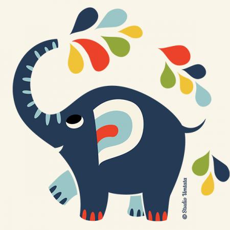 Little elephant T-shirt - Design