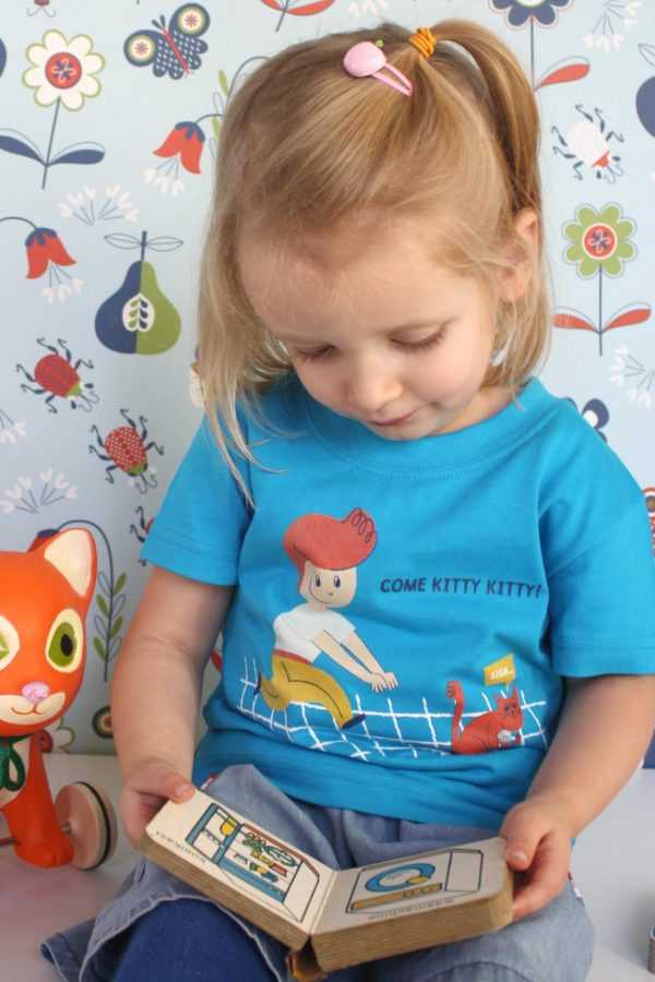 Come kitty T-shirt - Meisje van 2jaar en 8 maand