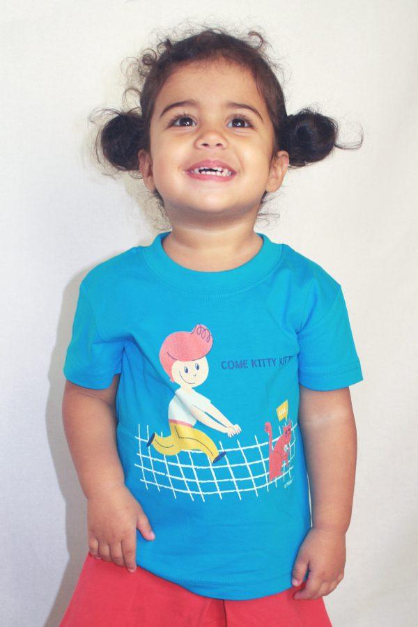 Come kitty T-shirt - Meisje van 2 jaar en 3 maand