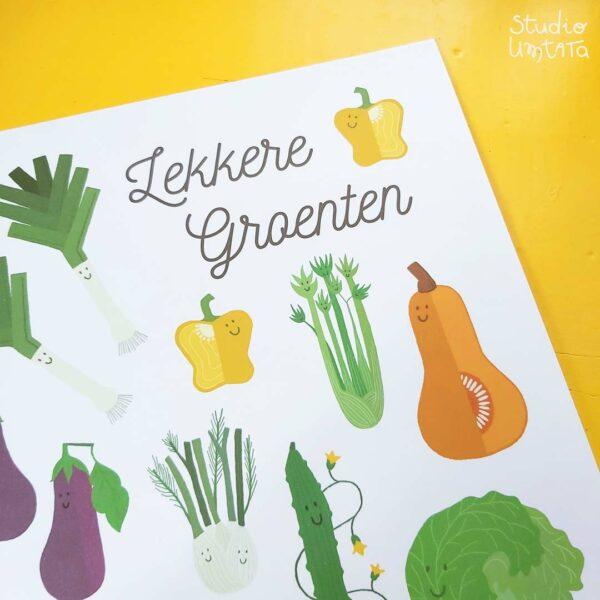 Poster lekkere groenten