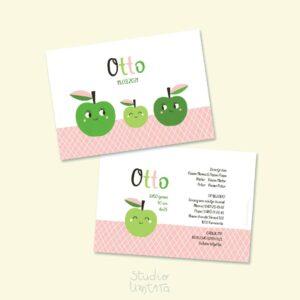 Lief geboortekaartje Appel