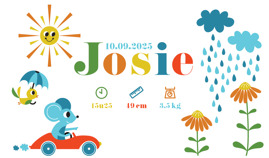 Geboortewebsite-Josie